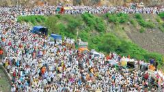 Pilgrims will be given leaf plates, saplings under 'Harit Wari'