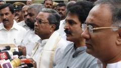 All JD(S)-Cong ministers quit, CM to carry out reshuffle to woo rebel MLAs