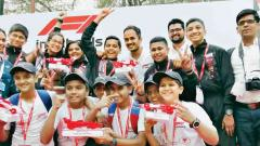 City Pride School blazes the 'F1 Track'
