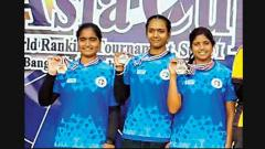 Junior Archers win medals at Asia Cup