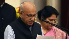 M J Akbar resigns as minister
