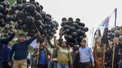 Citizenship bill agitators raise black flags, protest nude during Modi's Assam visit