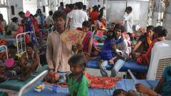 Three more children die in Bihar, AES toll touches 118