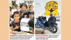 Chennai biker Sindy breaks barriers with 'leap of faith'