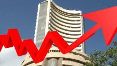 Market rides exit polls euphoria; Sensex soars 1,422 pts
