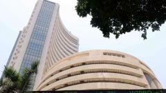 Sensex ends 382 points lower after record high