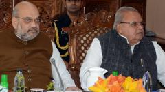 Shah moves resolution to extend Prez rule in J-K for 6 months
