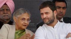 Sheila Dikshit was a beloved daughter of Congress: Rahul Gandhi