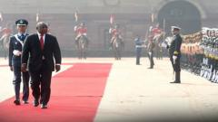 South African Prez Ramaphosa witnesses R-Day Parade at Rajpath