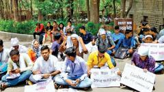 FC students on hunger strike over hike in fee