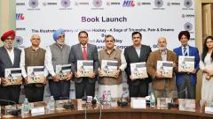 Jaitley launches Hockey India coffee table book