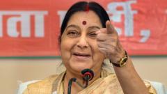 No talks, not to participate in SAARC unless Pak stops terror: Sushma Swaraj