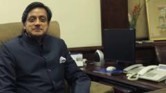 Tharoor tweet kicks up row; words twisted, says Cong leader