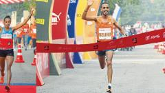 Debutante Gemechu breaks women's course record