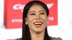 Six-time Women's World Boxing champion and Olympic medallist Mary Kom during the Colgate Palmolive India launch event at Shangri-La hotel in New Delhi on June 6, 2019. ANI Photo