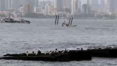 6 rescued, 1 missing in tug boat capsize off Mumbai coast