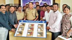 9 pistols & 13 bullets seized by, 5 detained