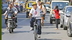 Pune man cycles 77 km to ring in his 77th birthday