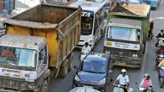 Ban on heavy vehicles on Karve Road from Sept 1 to 15