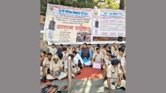 Ex-servicemen on hunger strike for pending salary