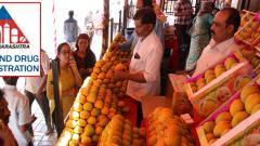 FDA testing mangoes for calcium carbide