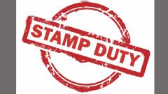 Govt increases stamp duty on realty deals by 1 pc
