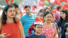 City soaks in festive X'mas spirit