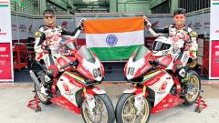 Honda's Indian racing's Sethu, Senthil set for ARRC Round 2