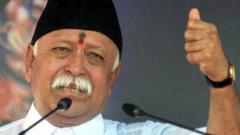 'Ram ka kaam ho kar hi rahega': Mohan Bhagwat in Udaipur