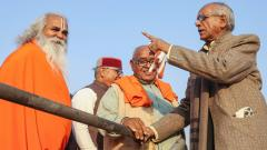 Ayodhya turns into fortress on eve of Dharam Sabha