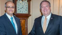 Pompeo, Gokhale say Pak must take 'concerted action' to dismantle terror groups