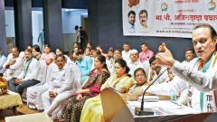 Ajit Pawar launches attack on Shiv Sena, BJP