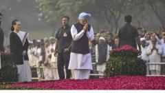 Modi, Manmohan, Sonia, Rahul pay tributes to Indira Gandhi