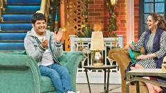Sania asks Kapil to return the utensils on the show