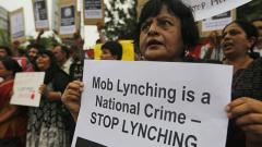 No common pattern of mob lynching in country