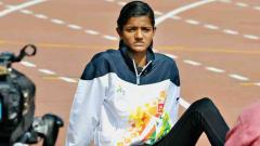 Sprinter Avantika Narale wears favourite tag