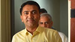Goa CM meets Amit Shah