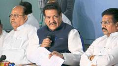 PM Modi politicised the air strikes, claims Chavan