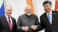 PM Modi discusses counter-terror, climate change with Putin, Xi