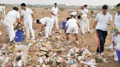 CISF, Air Force, PMC conduct cleanliness drive at airport