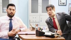 Yuvraj Singh shoots for Hotstar Specials' 'The Office'