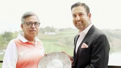 Asian Tour felicitates Pawan Munjal for his contribution to golf in Asia