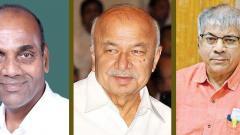 Losers in Maharashtra - Anant Geete, Sushilkumar Shinde, Prakash Ambedkar