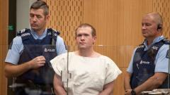 In this picture taken on March 16, 2019, Brenton Tarrant, the man charged in relation to the Christchurch massacre, stands in the dock during his appearance at the Christchurch District Court. AFP Photo