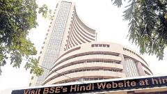 Sensex spurts 140 pts ahead of election outcome