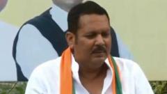 NCP MP Udayanraje Bhosale joins BJP