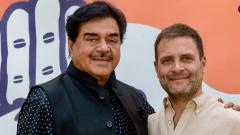 LokSabha 2019: Shatrughan Sinha Joins Congress