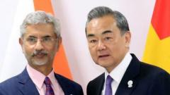 External Affairs Minister Dr. S Jaishankar meets Foreign Minister of China, Wang Yi in Bangkok