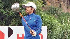 Teenaged amateur Sneha takes lead