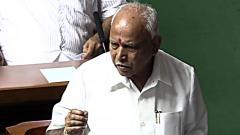 Yediyurappa wins trust vote easily; Speaker resigns